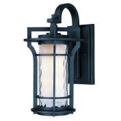 Maxim Lighting 30486WGBO Oakville 1-Light Outdoor Wall Lantern - Black Oxide