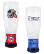 Duck House New England Patriots Crystal Pilsner Glass