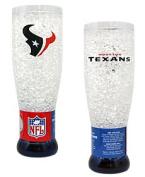 Caseys Houston Texans NFL Crystal Pilsner Glass