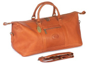 Claire Chase 311E-saddle All American Duffel - Saddle