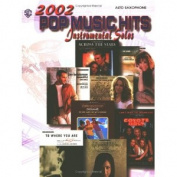Alfred 00-IFM0236 2002 Pop Music Hits- Instrumental Solos - Music Book