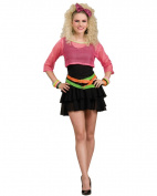 80s Groupie Adult Halloween Costume, Size