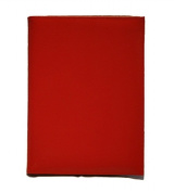Budd Leather 550182L-9 Lizard Calf Pad Cover - Red