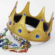 Forum Novelties Inc 20780 King Crown Fabric Size One-Size