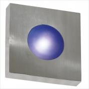 Kenroy Home 72825PA Burst Small Square Sconce-Flush- Polished Aluminium Finish