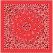 Liberty Mountain 518050 Bandanas with Hang Tag and UPC - Red