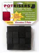 Potrisers PR 32 Potriser 32 Pack Invisible Pot Feet