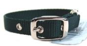 Hamilton Single Thck Nyln Dlx Dg Collar Hunter Green 5 8 X14 - ST
