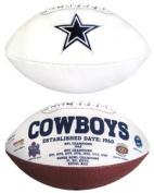 Creative Sports FB-COWBOYS-Signature Dallas Cowboys Embroidered Logo Signature Series Football