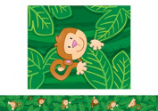 Carson Dellosa CD-108114 Monkeys Border