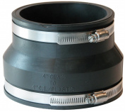 Fernco Inc 4in. Clay To 3in. Cast Iron Or Plastic Coupling P1002-44