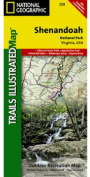 National Geographic Trails Illustrated Topographic Map Shenandoah National Park, Virginia