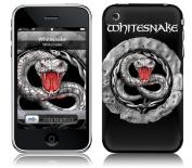 Zing Revolution MS-WSNK30001 iPhone 2G-3G-3GS- Whitesnake- Snake Stone Skin