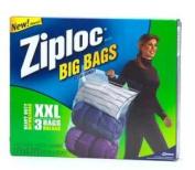 Johnson Wax 65645 Ziploc Big Bag XXL 3 Count - Case of 8