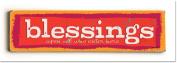 ArteHouse 0003-4153-24 Blessings Vintage Sign