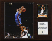 C & I Collectables 1215RWESTB NBA Russell Westbrook Oklahoma City Thunder Player Plaque