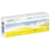 Natracare Tampons Organic All Cotton Tampons Super 20 Pack(s)