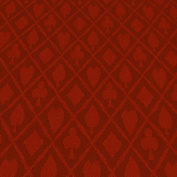 Brybelly Holdings GCLO-202 Red Suited Speed Cloth - Cotton 0.3m section x 150cm