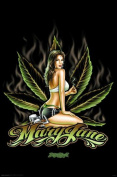 Hot Stuff 2542-24x36-AL Mary Jane Poster