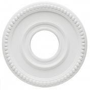 Westinghouse Lighting 7776200 10.2cm . White Finish Colonnade Polyurethane Medallion