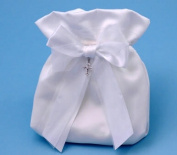 Beverly Clark 38YT Grace Bridal Purse in White