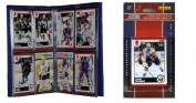 C & I Collectables 2010NYITS NHL New York Islanders Licenced 2010 Score Team Set and Storage Album
