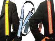 Bright Ideas RST1O Reflective Shoulder Strap For Backpack Bags - Orange-Lime