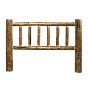 Montana Woodworks MWGCCKHB Glacier Country California King Log Headboard - Stained and Lacquered