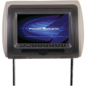 POWER ACOUSTIK HDVD-71CC UNIVERSAL HEADREST MONITOR WITH DVD
