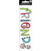 Me & My Big Ideas MAMBI Sticker Embellishment, Friends