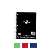 Roaring Spring Paper Products 10081 Five Subject Notebook - 180 Sheets Per Book