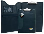 CLIPBOARD/PADFOLIO 9X12 BLACK DCB-111BK ROADPRO