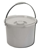 Commode Pail With Lid 11.4l - 1362C