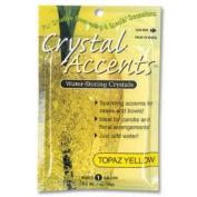 JRM Chemical CA-25Y Crystal Accents 1 oz Bag Topaz Yellow