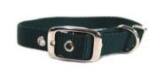 Hamilton Single Thck Nyln Dlx Dg Collar Hunter Green 5 8 X18 - ST