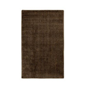 Garland Rug SHE-3050-14 Sheridan 30 in. x 50 in. Plush Washable Nylon Rug Chocolate