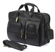 Claire Chase 151E-black Executive Computer Briefcase - Black