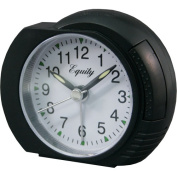 Equity By La Crosse Quartz Analog Alarm Clock With Lighted Dial 27001