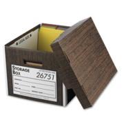 Business Source File Storage Box - Legal, Letter - External Dimensions