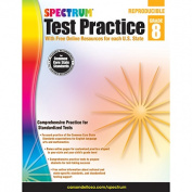 CARSON DELLOSA CD-704254 TEST practise GR 8