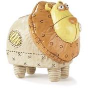 Dicksons Inc BANK-100 13cm Noahs Ark Resin Lion Bank - Pack of 2