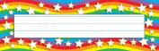 TREND ENTERPRISES INC. T-69026 STAR RAINBOW DESK TOPPERS NAME PLAT ES