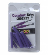 Comfort Grip Crochet Hook 10/Pkg - Assorted Colours (one colour per package) Multi-Coloured