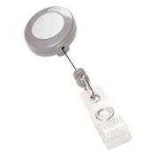 General Binding Corporation GBC50573 Retract. Badge Holder- 80cm . Cord- Clamps Belt-Pocket-Collar- GY