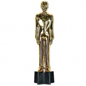 Beistle - 50285 - Awards Night Male Statuette - Pack of 6