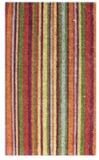 DC MILLS 12004 Stripe- Vinyl Back Mat 18 X 30