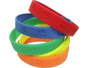 Teacher Created Resources Paw Prints Wristbands, Multi Colour