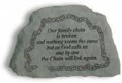 Kay Berry- Inc. 42020 Our Family Chain Is Broken - Memorial - 6.5 Inches x 4.5 Inches x 1.5 Inches