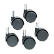 Master MAS-65434 Standard Neck Safety Casters - Pack of 5