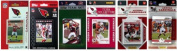 C & I Collectables ARIZCARD612TS NFL Arizona Cardinals 6 Different Licenced Trading Card Team Sets